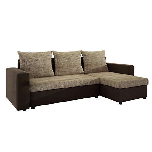 Ecksofa top lux sofa eckcouch couch mit schlaffunktion for Best moebel24