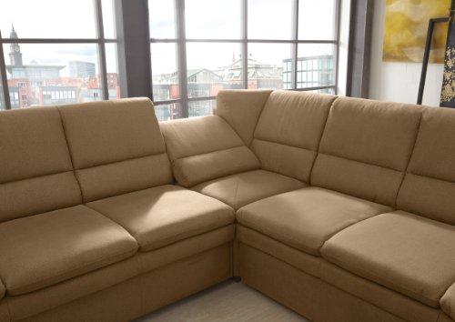polsterecke gingle 3er bett spitzecke mit relaxfunktion 2er abschlussottomane mit schubkasten. Black Bedroom Furniture Sets. Home Design Ideas