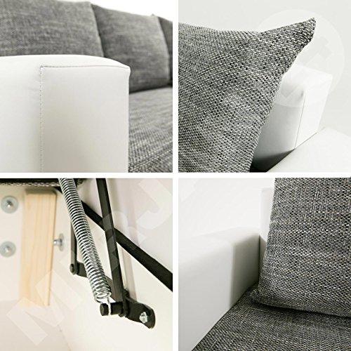 ecksofa top lux sofa eckcouch couch mit schlaffunktion. Black Bedroom Furniture Sets. Home Design Ideas