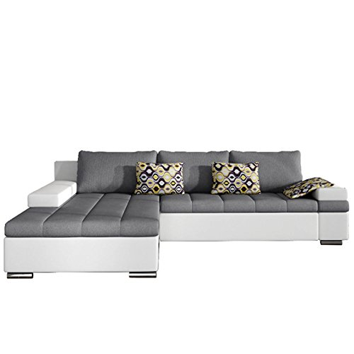 design ecksofa bangkok moderne eckcouch mit schlaffunktion und bettkasten ecksofa fr wohnzimmer. Black Bedroom Furniture Sets. Home Design Ideas