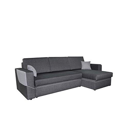 ecksofa linea couch eckcouch sofa mit schlaffunktion und. Black Bedroom Furniture Sets. Home Design Ideas