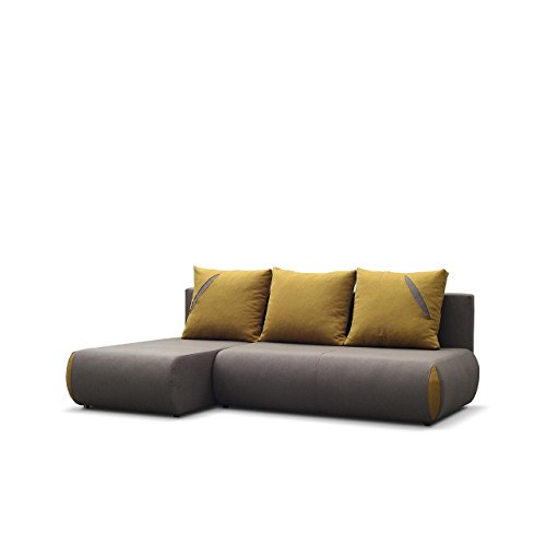 ecksofa mit schlaffunktion cuba eckcouch mit bettkasten. Black Bedroom Furniture Sets. Home Design Ideas