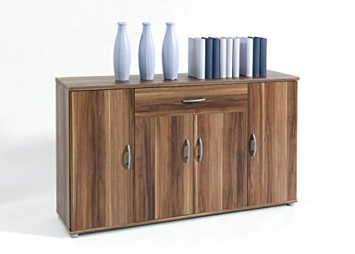 Kommode sideboard lilly 13 in walnuss nussbaum for Kommode nussbaum nachbildung