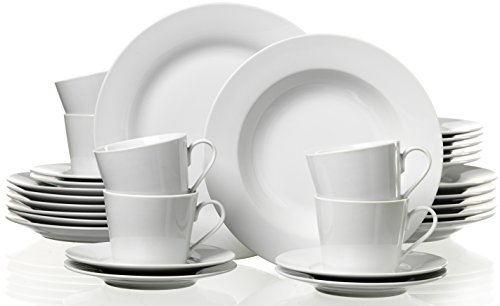 ritzenhoff breker kombiservice bianco 30 teilig. Black Bedroom Furniture Sets. Home Design Ideas