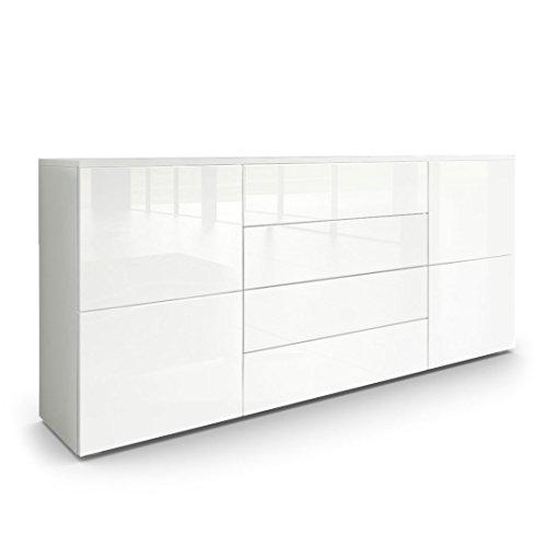 Sideboard Kommode Rova Weiß