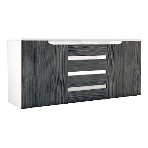 Sideboard Kommode Sylt Weiß