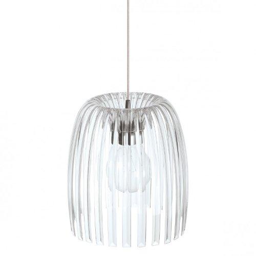 Koziol Josephine M Pendelleuchte, Hängeleuchte, Deckenlampe, Transparent Klar, 1930535