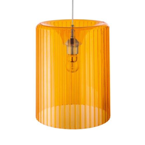 Koziol Pendelleuchte Roxanne transparent orange