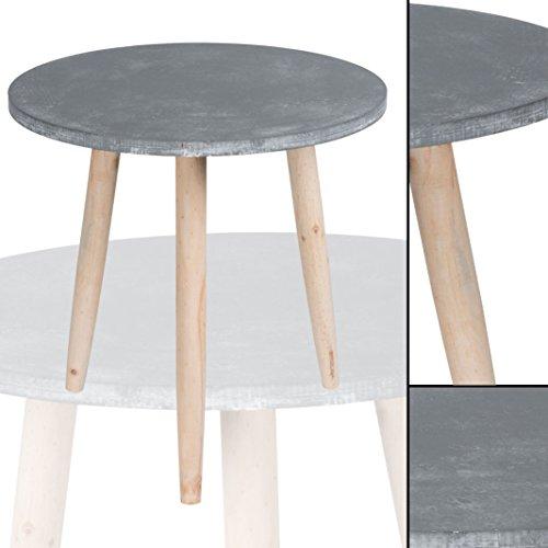 cavadore django couchtisch mdf betonoptik 80 x 80 x 37. Black Bedroom Furniture Sets. Home Design Ideas