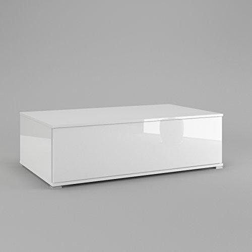 couchtisch wohnzimmer tisch kaffeetisch in wei hochglanz m bel24. Black Bedroom Furniture Sets. Home Design Ideas
