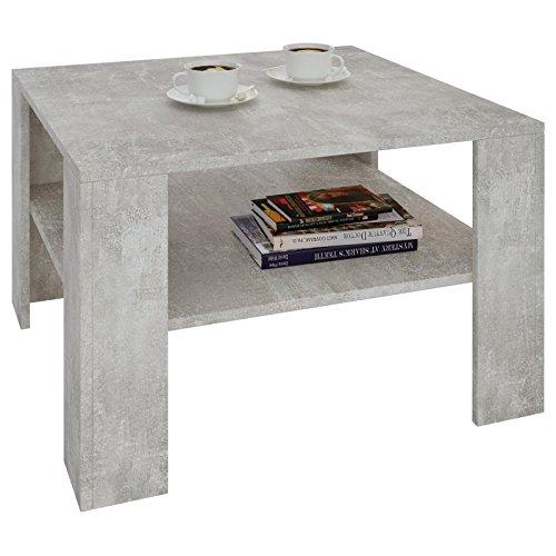 couchtisch wohnzimmertisch felice in beton optik mit. Black Bedroom Furniture Sets. Home Design Ideas