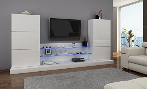 wohnwand vigo 13 anbauwand wohnzimmer m bel hochglanz m bel24. Black Bedroom Furniture Sets. Home Design Ideas