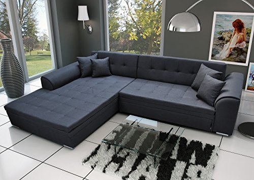ecksofa sorrento eckcouch sofa couch mit bettfunktion schlaffunktion m bel24. Black Bedroom Furniture Sets. Home Design Ideas