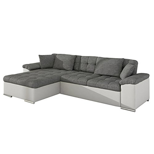 groes design ecksofa diana loft eckcouch mit bettkasten und schlaffunktion elegante couch. Black Bedroom Furniture Sets. Home Design Ideas