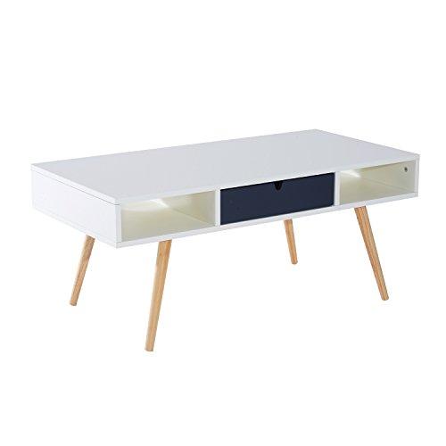 homcom beistelltisch couchtisch teetisch wohnzimmertisch. Black Bedroom Furniture Sets. Home Design Ideas
