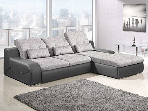 polsterecke sofa bavero mit schlaffunktion schlafsofa schlafcouch wohnlandschaft kunstleder. Black Bedroom Furniture Sets. Home Design Ideas