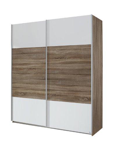 rauch schwebet renschrank quadra 2 t rig korpus front eiche havanna abs alpinwei m bel24. Black Bedroom Furniture Sets. Home Design Ideas