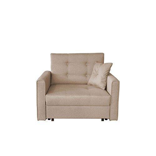 Sofa viva lux i mit schlaffunktion einsitzer polstersofa for Schlafsofa xxl mit bettkasten