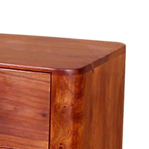 nachtkommode aus sheesham massivholz 60 cm hoch pharao24. Black Bedroom Furniture Sets. Home Design Ideas