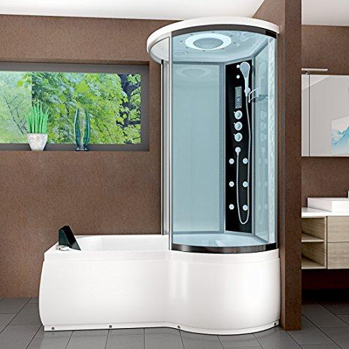 acquavapore dtp8055 a007l whirlpool wanne duschtempel. Black Bedroom Furniture Sets. Home Design Ideas