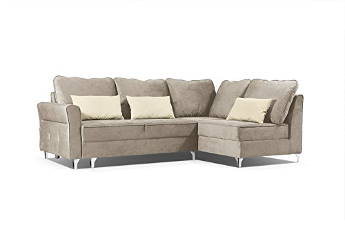 Ecksofa sofa eckcouch mit schlaffunktion und bettkasten for Eckcouch schlaffunktion bettkasten