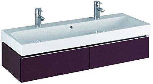 keramag waschbecken icon mit zwei hahnl chern 120x48 5cm. Black Bedroom Furniture Sets. Home Design Ideas
