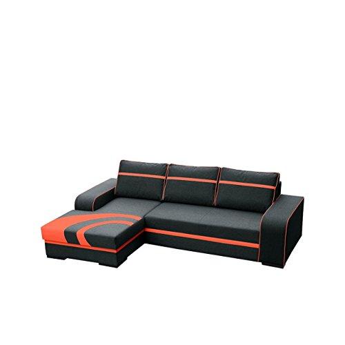 outlet ecksofa flores couch mit bettkasten und. Black Bedroom Furniture Sets. Home Design Ideas
