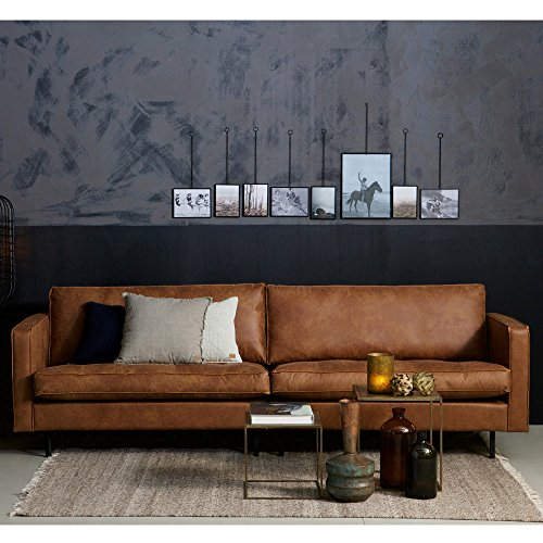 3 sitzer sofa rodeo classic echtleder leder lounge couch ledersofa cognac m bel24. Black Bedroom Furniture Sets. Home Design Ideas