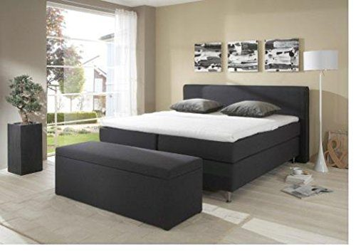 Breckle Boxspringbett 120 x 200 cm Cozy Box Elektro Inspiration Hollanda TFK Topper Gel Comfort