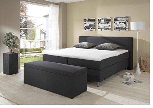 Breckle Boxspringbett 120 x 200 cm Cozy Box Elektro Inspiration Hollanda TFK Topper Gel Comfort