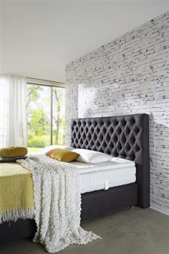 Breckle Boxspringbett 140 x 200 cm Barito Box Mero Easy Big Bonnell Topper Gel Standard