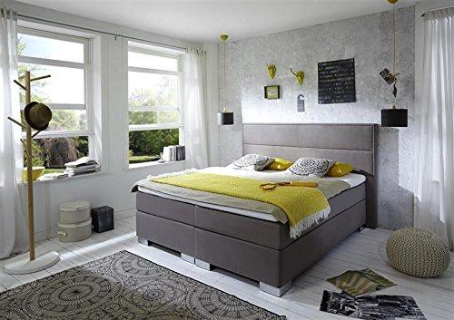 Breckle Boxspringbett 180 x 200 cm Castillo Box Elektro Inspiration Hollanda TFK Topper Gel Comfort