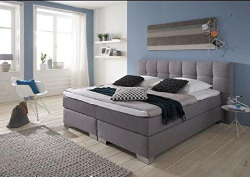 Breckle Boxspringbett 180 x 200 cm Dorinta Box Elektro Inspiration Hollanda TFK Topper Gel Comfort