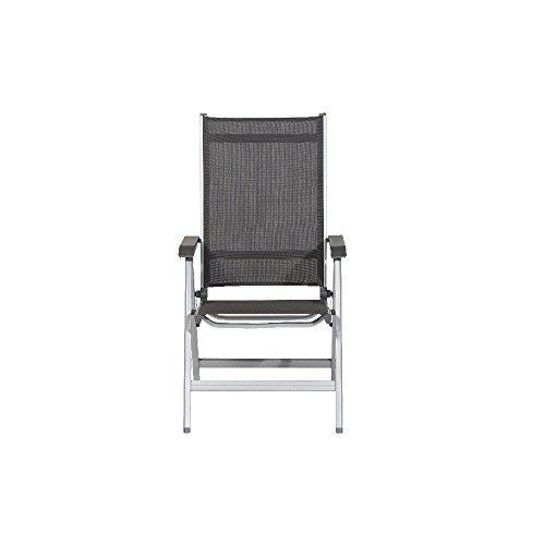 kettler basic plus advantage gartenstuhl hochlehner verstellbar einfach zusammenklappbar. Black Bedroom Furniture Sets. Home Design Ideas