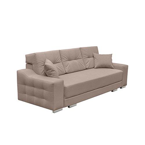 modernes schlafsofa cypis sofa mit bettkasten und schlaffunktion bettsofa design schlafcouch. Black Bedroom Furniture Sets. Home Design Ideas