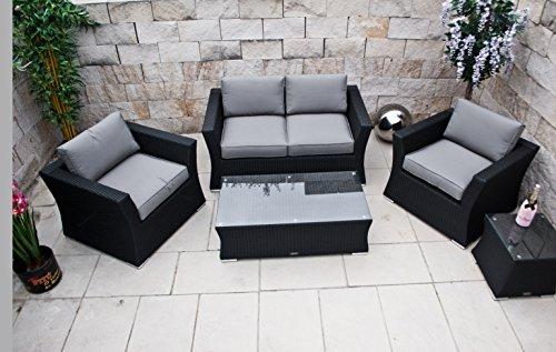 polyrattan lounge set deutsche marke eignene produktion 8 jahre garantie auf uv best ndigkeit. Black Bedroom Furniture Sets. Home Design Ideas