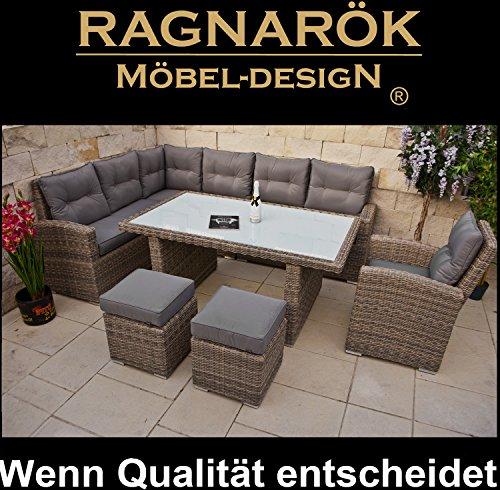 polyrattan hohe dinning lounge deutsche marke eigene produktion 8 jahre garantie auf uv. Black Bedroom Furniture Sets. Home Design Ideas