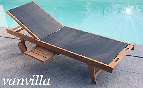 vanvilla sonnenliege gartenliege holz relaxliege liegestuhl alabel m bel24. Black Bedroom Furniture Sets. Home Design Ideas