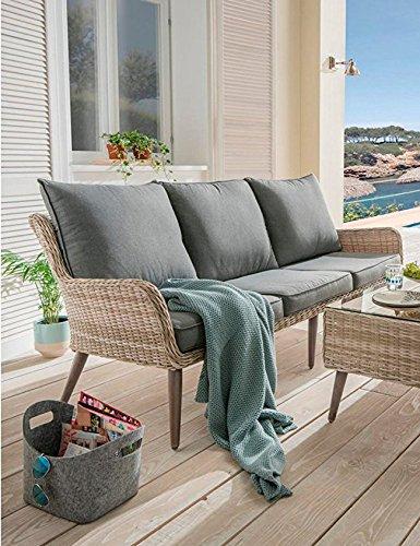 beauty scouts 4 tlg loungegruppe helo gartenm bel. Black Bedroom Furniture Sets. Home Design Ideas