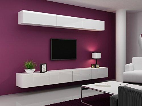 Wohnwand VIGO 13, Anbauwand, Wohnzimmer Möbel, Hochglanz !!!