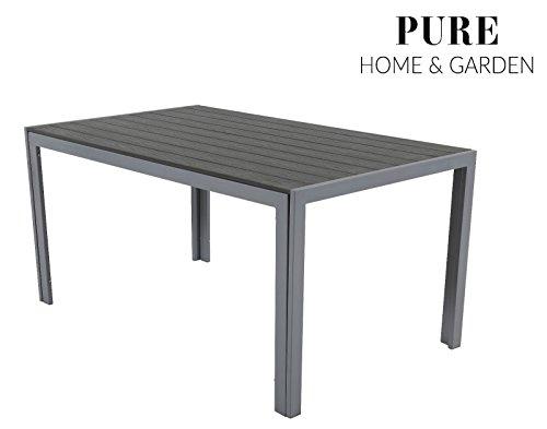 Aluminium gartentisch fire xxl mit polywood tischplatte - Xxl gartentisch ...