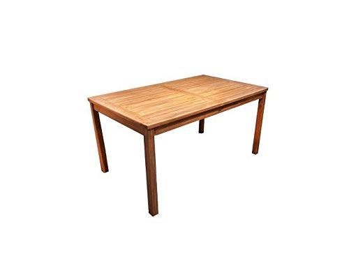 Echt Teak Tisch Gartentisch Teaktisch 150 x 80 x 75 cm T41