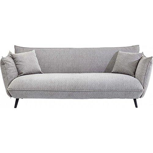 Kare Design Sofa Molly 3-Sitzer B205xT90xH80 grau