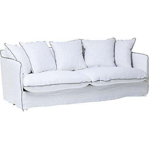 Kare Design Sofa Santorini 3-Sitzer B210xT95xH75