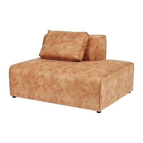 ottomane rechts sofa infinity cognac kare design m bel24. Black Bedroom Furniture Sets. Home Design Ideas