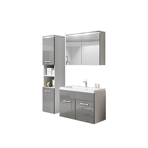 Badmöbel Set Paso Mit Waschbecken Und Siphon, Modernes