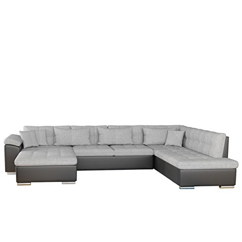 Ecksofa niko bris bis technologie cleanaboo for Sofa u form mit schlaffunktion
