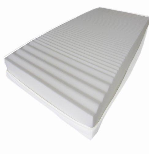 Dibapur® : Q - 9 Zonen Orthopädische Kaltschaummatratze 180cm x 200cm x ca.15,5 cm Kern mit gesteppten Doppeltuchbezug ca. 16 cm Härtegrad: H2,5 (bis ca. 110 kg) Dibapur® : Q steht für Qualität. Made in Germany