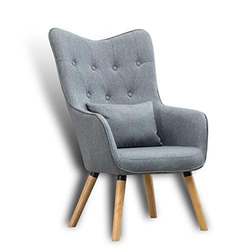 Estexo fernsehsessel tv sessel lounge relaxsessel for Fernsehsessel stoff grau