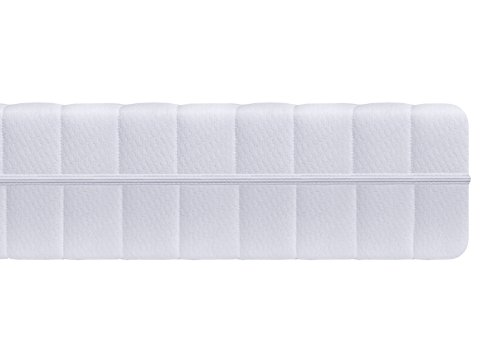 7-Zonen Kaltschaummatratze 140 x 200 cm, 2 Härtegrade in einer Matratze (H2&H3), Matratze wendbar und beidseitg benutzbar, Rollmatratze, Öko-Tex